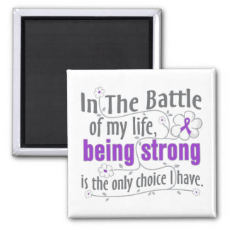 Crohns Disease In The Battle Square Magnet