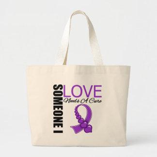 Crohn's Disease Someone I Love Needs A Cure Canvas Bag