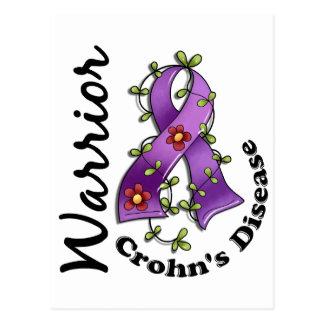 Crohn's Disease Warrior 15 Postcard