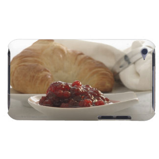 Croissant with jam, close up barely there iPod cover