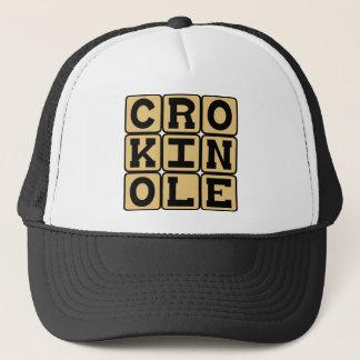 Crokinole, Board Game Trucker Hat