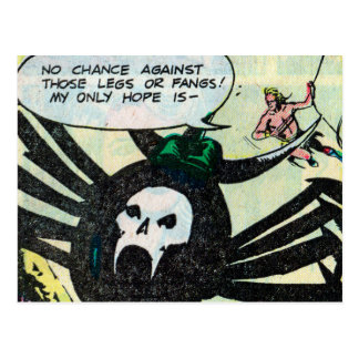 Crom and the Spider God of AKKA Postcard #3 of 3