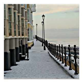 Cromer in winter.. poster