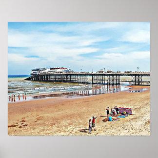 Cromer Seaside Norfolk. Poster