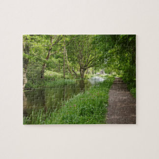 Cromford Canal in Derbyshire Jigsaw Puzzle