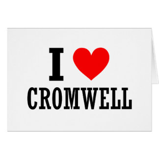 Cromwell, Alabama City Design Greeting Card