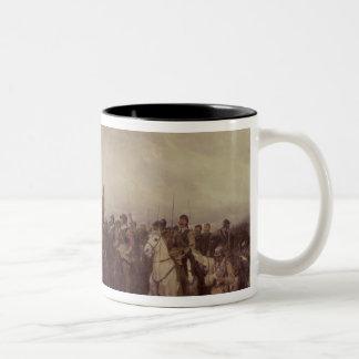 Cromwell at Dunbar, 1650 Two-Tone Mug