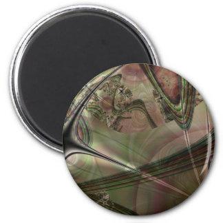 Cronus 6 Cm Round Magnet