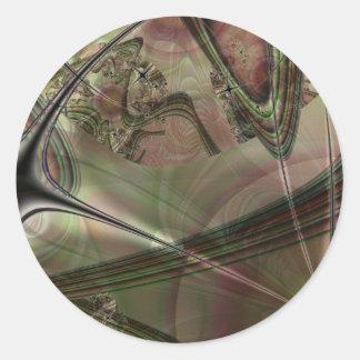 Cronus Round Sticker