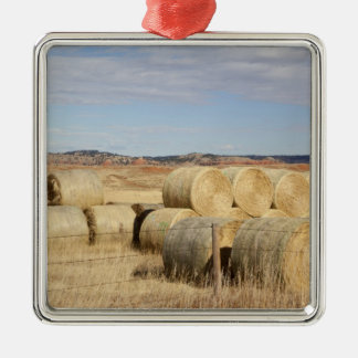 Crook County, Hay Bales 2 Christmas Ornament