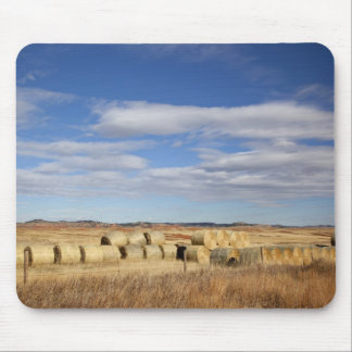 Crook County, Hay Bales Mouse Mat