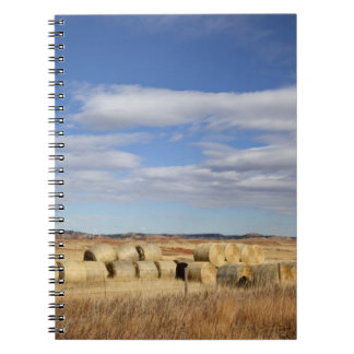 Crook County, Hay Bales Spiral Note Books