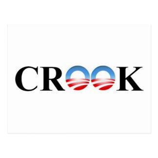CROOK POSTCARD