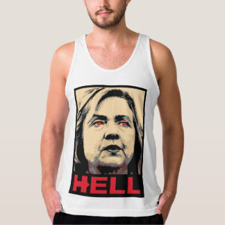 Crooked Hillary Clinton Hell – Anti-Hillary Tank Top