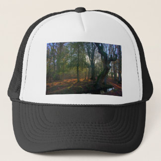 Crooked Tree and River Trucker Hat