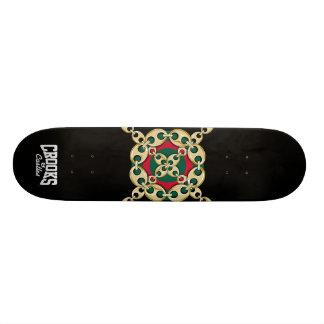 Crooks & Castles Bulls Eye Link (Black) 20 Cm Skateboard Deck