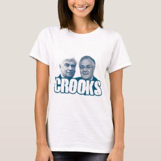 CROOKS: Chris Dodd and Barney Frank T-Shirt