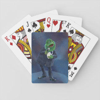 Crooner Frog Playing Cards