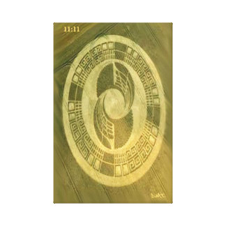 CROP CIRCLE CANVAS DMT SPIRITUAL GRAFFITI
