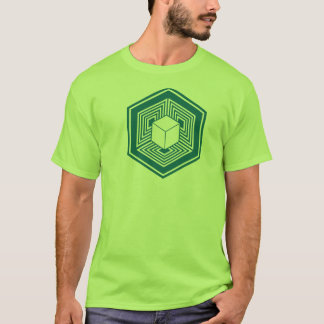 Crop Circle Cube Tshirt