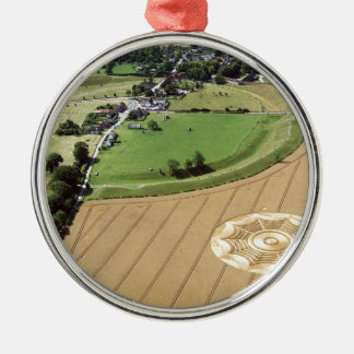 Crop Circle Dreamcatcher Avebury 1994 Christmas Ornament