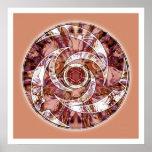 Crop Circle Mandala 3 Poster