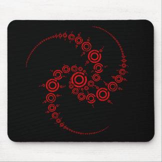 crop circle mouse mat