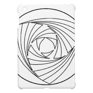 Crop Circle Sacred Geometry Bag iPad Mini Covers