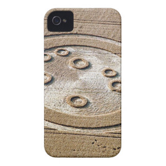 Crop Circle Sisters Of Pleiades Froxfield 1994 iPhone 4 Covers
