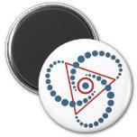 crop circle VI Fridge Magnet