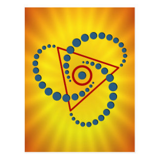 crop circle VI Post Cards