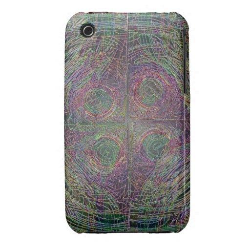 Crop Circles Case-Mate iPhone 3 Cases