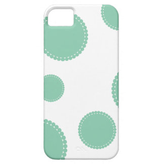 Crop Circles Dotty Teal Case Case For The iPhone 5