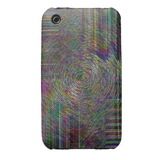 Crop Rows iPhone 3 Covers