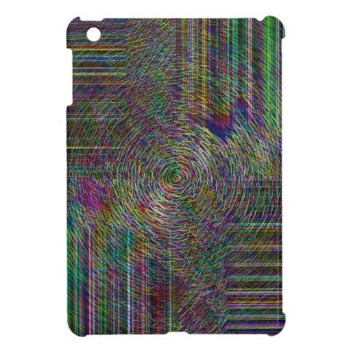 Crop Rows iPad Mini Cover