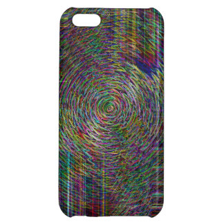 Crop Rows iPhone 5C Case