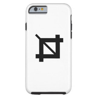 Crop Tool Pictogram iPhone 6 Case