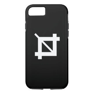 Crop Tool Pictogram iPhone 7 Case