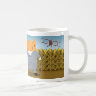 Cropduster Cat Basic White Mug