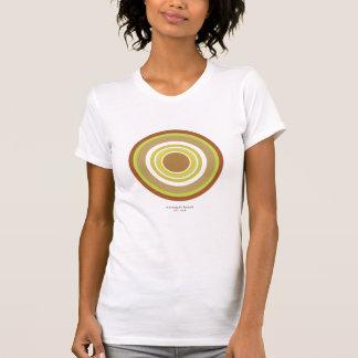 Cropped Circles w/Solids (Orange) Tee Shirt