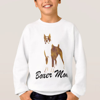Cropped Ear Boxer Mom Sweatshirt