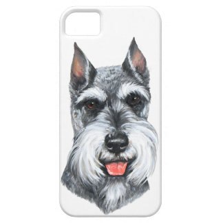 Cropped Ear Schnauzer iPhone 5 Cover