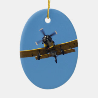 Cropsprayer Airplane Christmas Ornament