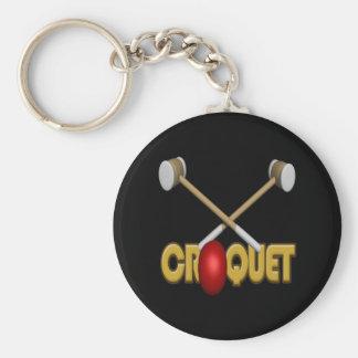 Croquet 3 key chains