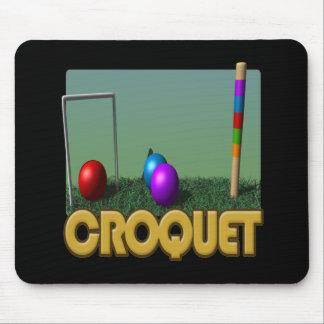 Croquet 5 mouse mat