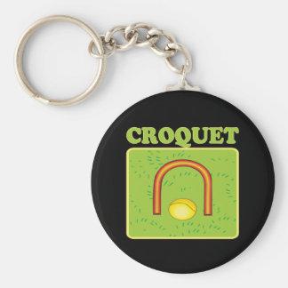 Croquet 6 keychains