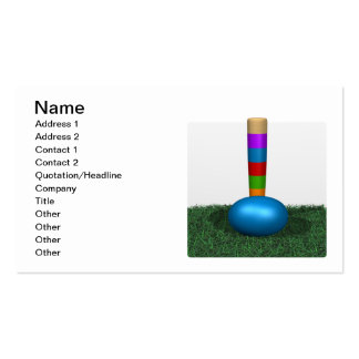 Croquet 7 pack of standard business cards