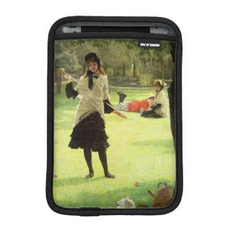 Croquet, c.1878 iPad mini sleeve