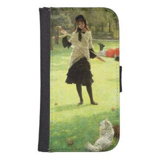 Croquet, c.1878 samsung s4 wallet case