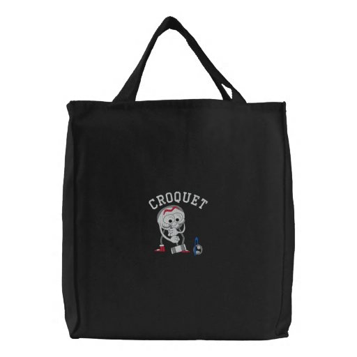 Croquet Embroidered Bag